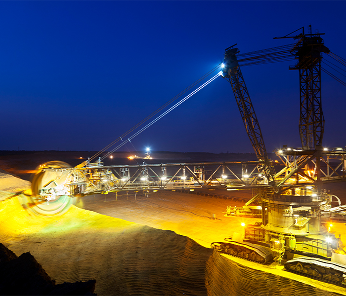 Mining and Soil Industry